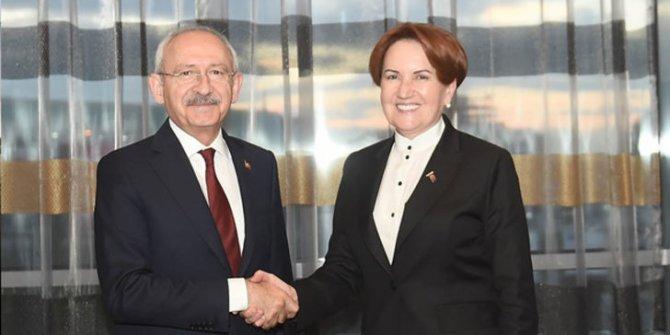 CHP-İYİ Parti güç birliği...