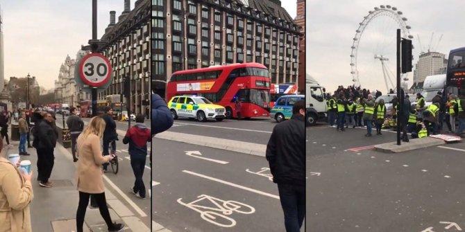 Sarı Yelekliler eylemleri İngiltere'ye de sıçradı!
