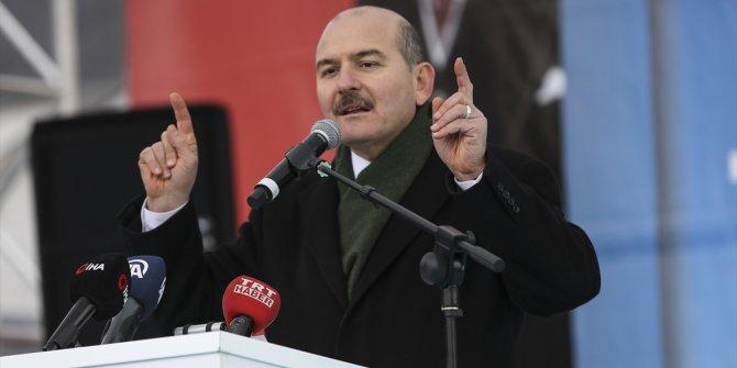 """Süleyman Soylu: """"Dağlarda toplam 700 terörist kaldı"""""""