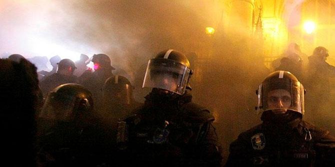 """Macaristan'da """"fazla mesai"""" protestosu devam ediyor"""