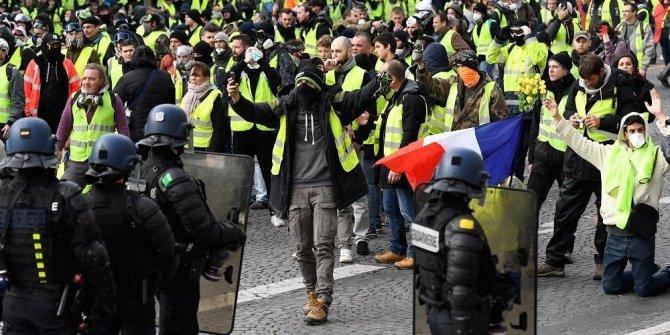 Paris'te 85 kişi gözaltına alındı