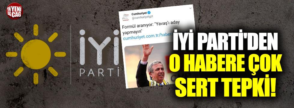 İYİ Parti'den Mansur Yavaş iddialarına yalanlama