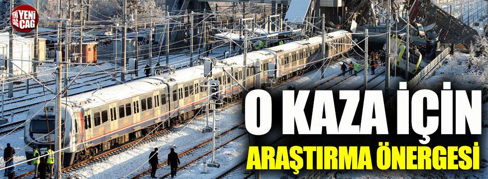 CHP'den Ankara'daki tren kazası için araştırma önergesi