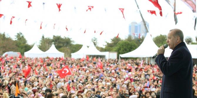 """Cumhurbaşkanı Erdoğan: """"Burası Paris değil, gereğini yaparız"""""""