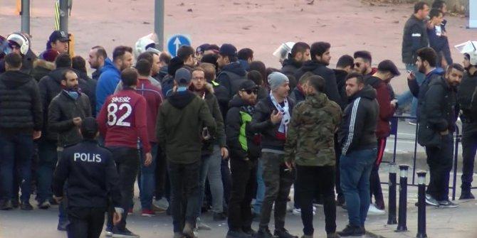 Trabzonspor taraftarının mağaza saldırısına sert tepki