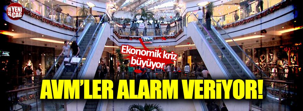 AVM'ler alarm veriyor!