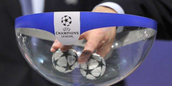 Şampiyonlar Ligi'nde son 16 turu eşleşmeleri belli oldu