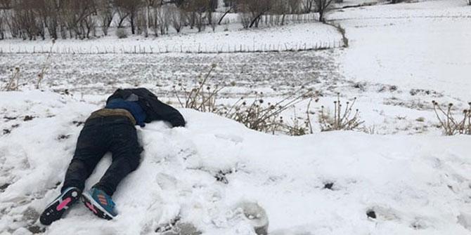 Van'da yabancı uyruklu bir kişi donmuş bulundu