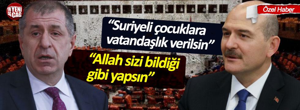 Ümit Özdağ'dan, Süleyman Soylu'ya çok sert tepki