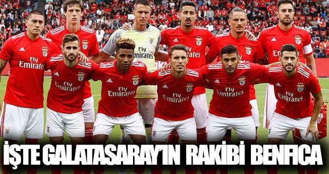 İşte Galatasaray'ın rakibi Benfica