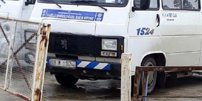 Minibüs şoföründen gazi oğluna skandal sözler
