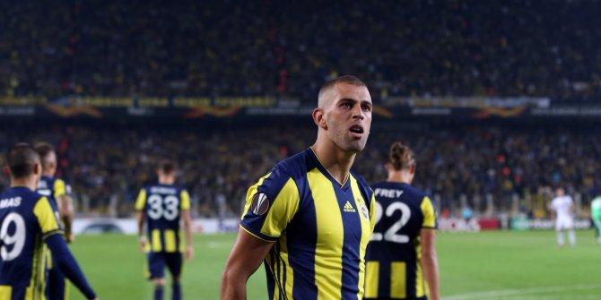 Fenerbahçeli Slimani'ye tepki yağıyor