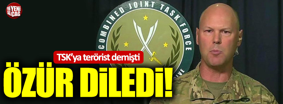 TSK'ya terörist diyen ABD'li Albay özür diledi!