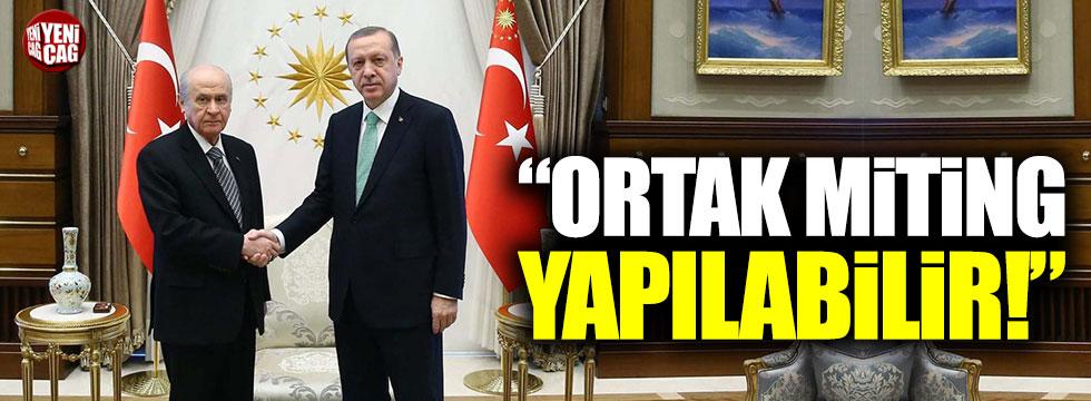 """Numan Kurtulmuş: """"MHP ile ortak miting yapılabilir"""""""