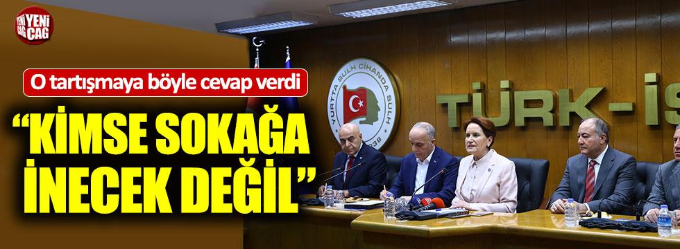 Meral Akşener'den Türk-İş'e ziyaret