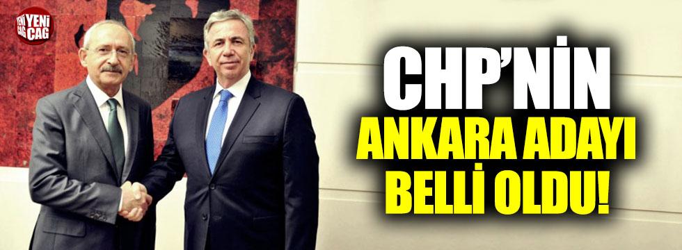 CHP'nin Ankara adayı Mansur Yavaş