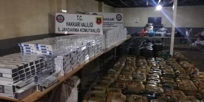 34 bin 940 paket sigara yakalandı