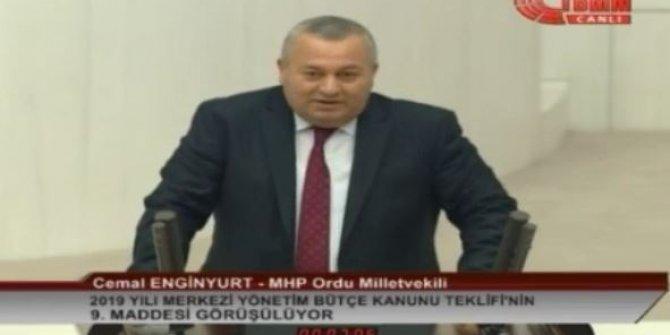 """MHP'li Enginyurt: """"İttifak zarar görür diye sesimizi çıkarmıyoruz"""""""