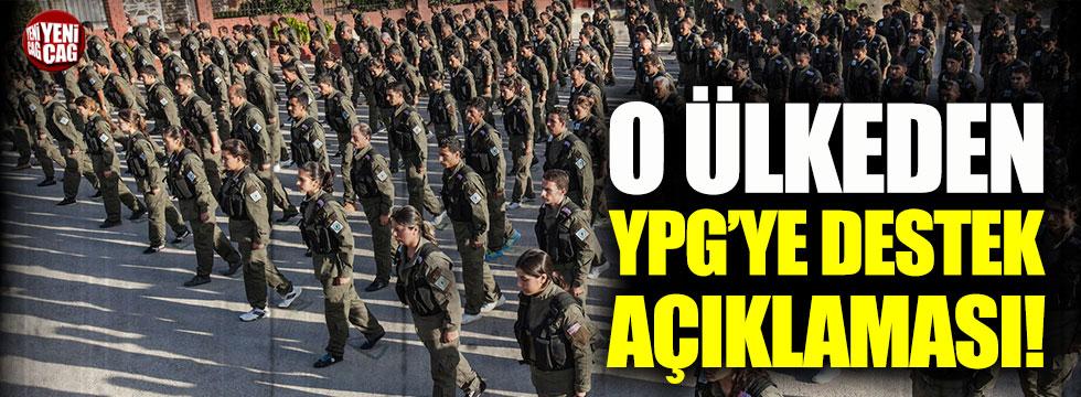 Fransadan YPG açıklaması