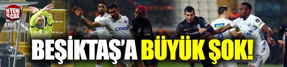 Kasımpaşa-Beşiktaş 4-1 (Maç özeti)