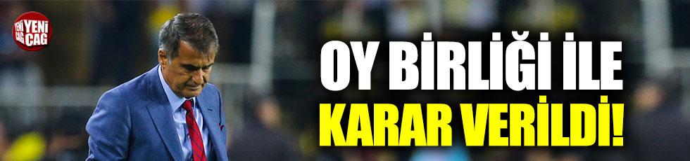 Beşiktaş'ta Şenol Güneş'in geleceği tartışma konusu oldu