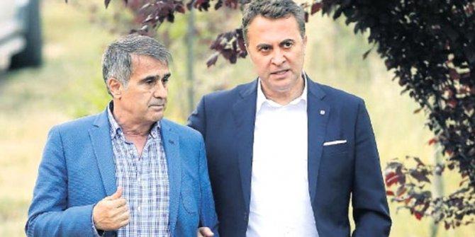 Beşiktaş'ta beklenen görüşme gerçekleşti