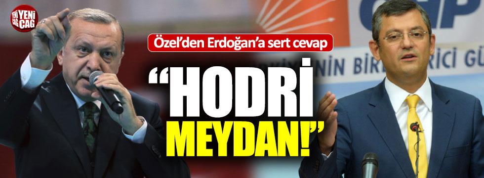 """Özgür Özel'den, Erdoğan'a Akar cevabı: """"Hodri meydan"""""""