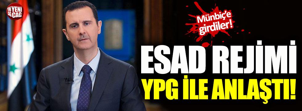 Suriye'de Esad rejimi, YPG/PKK ile anlaştı