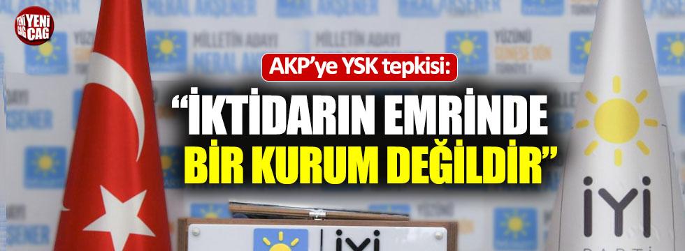 """""""AKP elini seçim yargısından çekmelidir"""""""