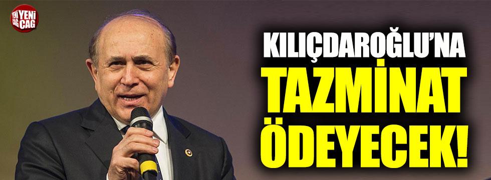 Buhan Kuzu, Kemal Kılıçdaroğlu'na tazminat ödeyecek