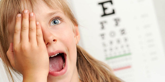 Çocuklarınız geleceğe sağlıklı gözlerle baksın