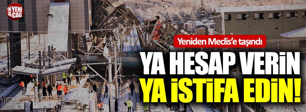İYİ Partili Koray Aydın, hızlı tren kazasını meclise taşıdı!