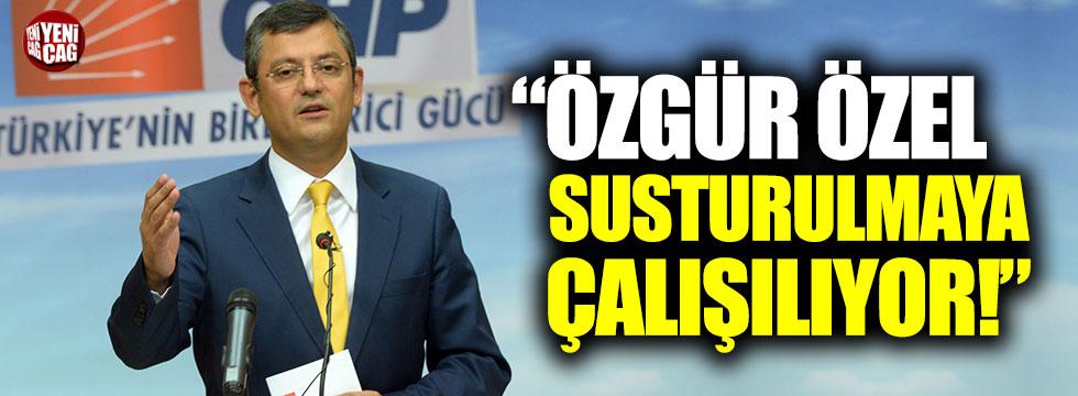 """CHP'li Veli Ağbaba: """"Özgür Özel susturulmaya çalışılıyor"""""""