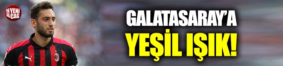 Hakan Çalhanoğlu'ndan Galatasaray'a yeşil ışık