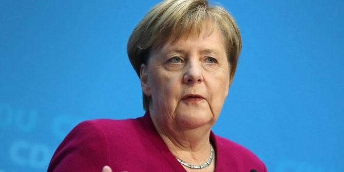 AB'den Merkel açıklaması