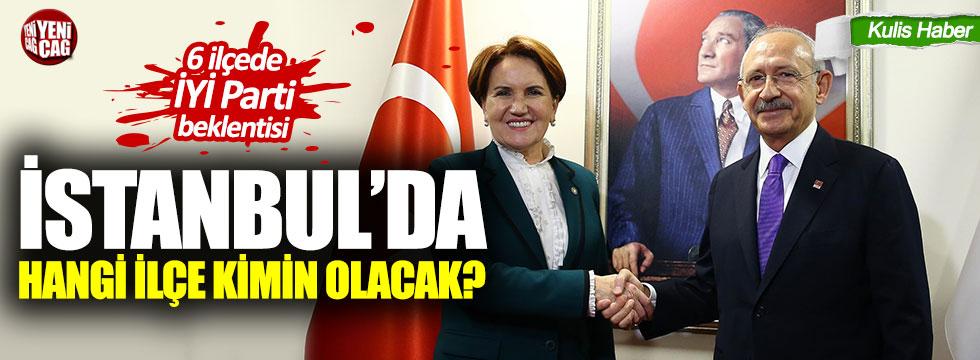 İş birliğinde İstanbul'daki ilçeler kimin olacak?