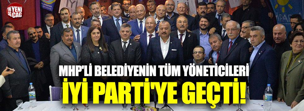 MHP'li belediyenin tüm yöneticileri İYİ Parti'ye geçti