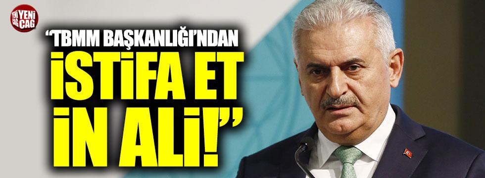 """Muharrem İnce: """"TBMM Başkanlığı'ndan İstifa et, İn Ali!"""""""