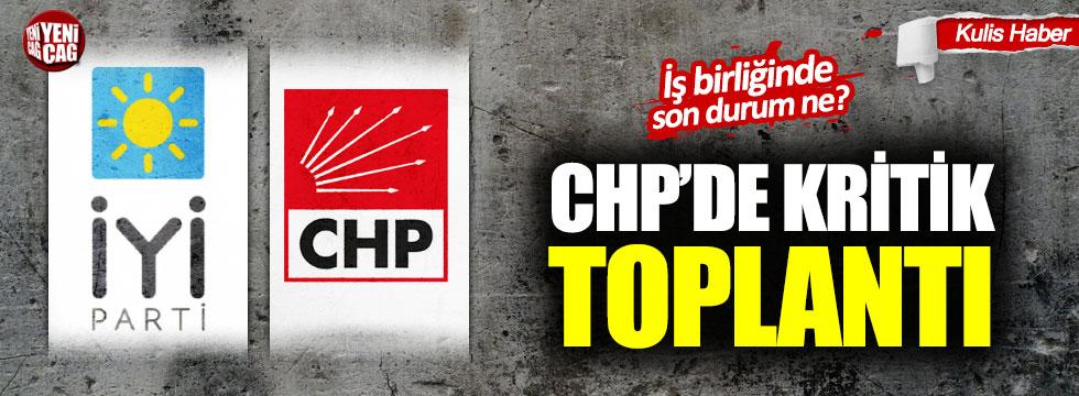 CHP MYK toplanıyor: Gündem iş birliği