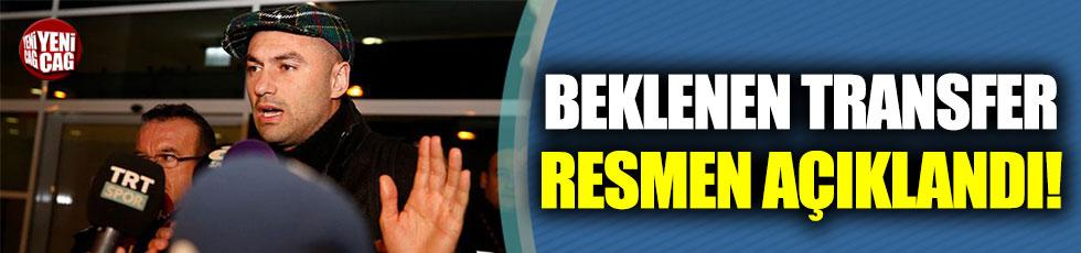 Burak Yılmaz Beşiktaş'a geri döndü