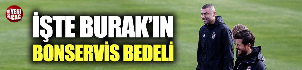Trabzonspor, Burak Yılmaz'ın bonservis bedelini açıkladı