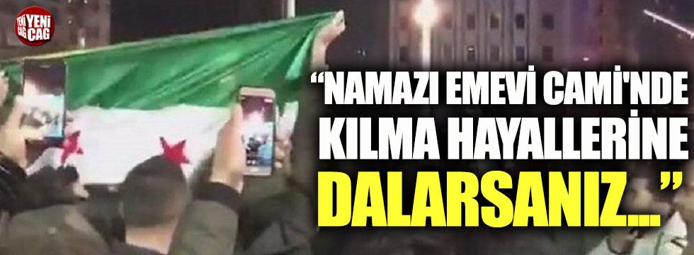 Murat Bardakçı: Namazı Emevi Cami'nde kılma hayallerine dalarsanız...