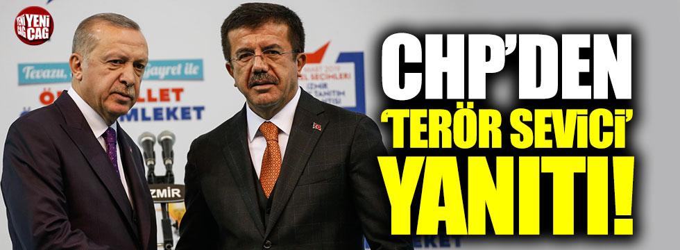 CHP'den Erdoğan'a 'terör sevici' yanıtı!