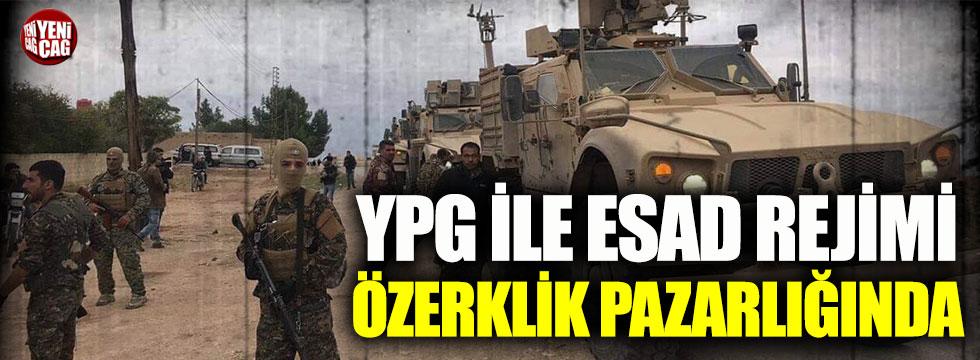 PKK/YPG ile Esad rejimi özerklik pazarlığına oturdu