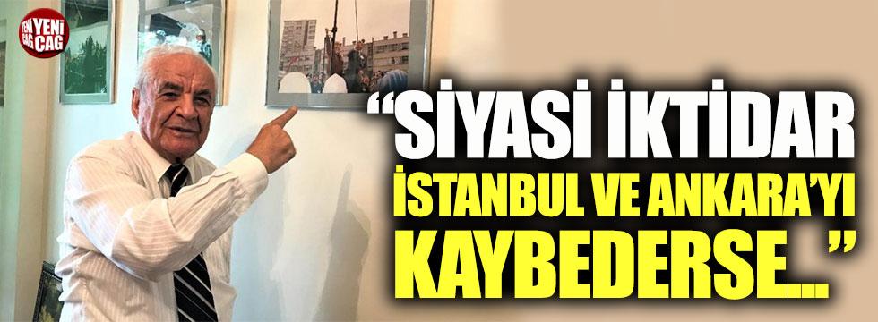 Nurettin Sözen: İktidar İstanbul ve Ankara'yı kaybederse parlamenter sisteme döner