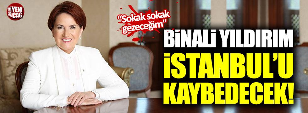 """Meral Akşener: """"Binali Yıldırım İstanbul'u kaybedecek"""""""