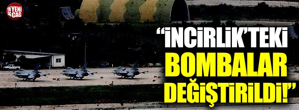 """İsmail Hakkı Pekin: """"İncirlik'teki bombalar değiştirildi"""""""