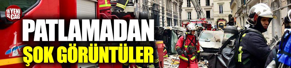 Paris'te patlama! 4 kişi öldü!