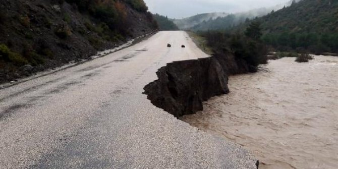 İzmir'de sel felaketi