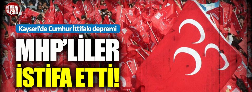 AKP'liler aday gösterilince MHP'liler istifa etti